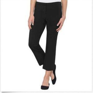 Max & Mia Ladies' Capri Dress Pant Black